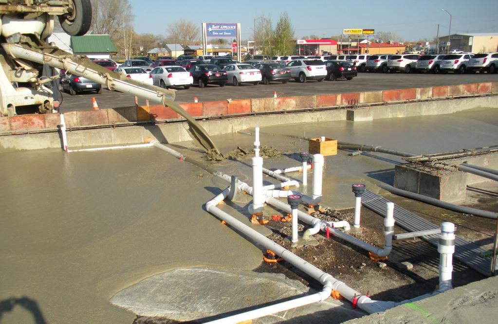 Cellular Concrete Mix Design : Projects cellular concrete technologies