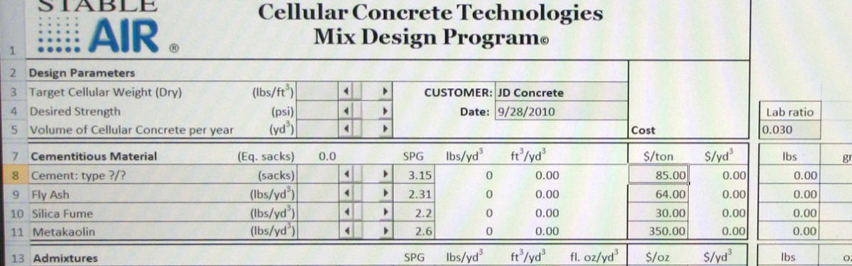Cellular Concrete Systems : Cellular concrete technologies