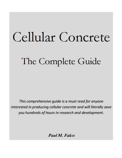 Cellular Concrete Mix Design : Cellular concrete the complete guide